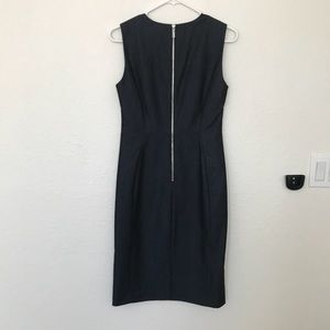 Calvin Klein Dresses - Denim Colored Calvin Klein Fitted Dress Size 6
